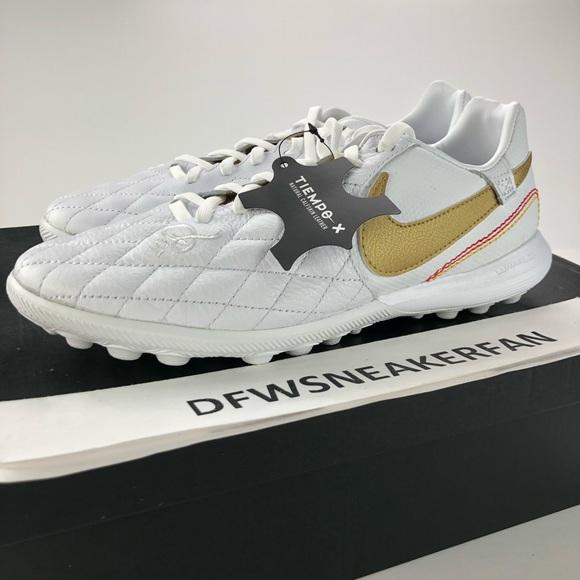 info for c2c0e 83b7a Nike Tiempo LegendX Ronaldinho Soccer Turf Men 7.5 NWT